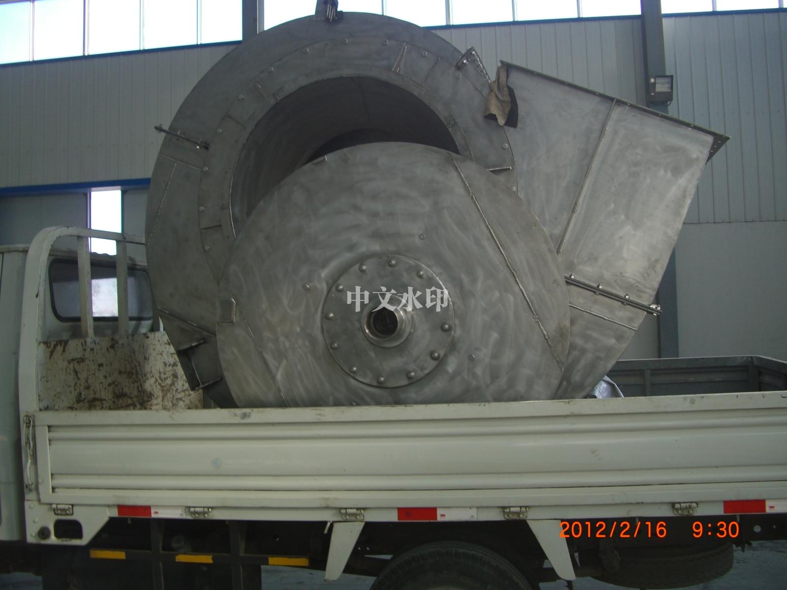钛机壳叶轮